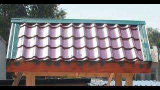 Крыша - фактор стресса у кур несушек.