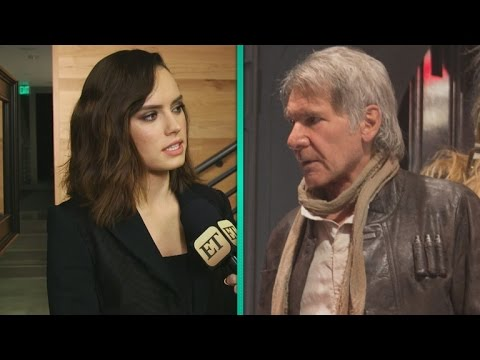 EXCLUSIVE: Daisy Ridley on Harrison Ford's 'Poignant' Last Day Ever Shooting a 'Star Wars' Film