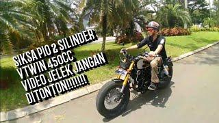 Download Video Scorpio 2silinder Vtwin 450cc Custom By Kabayan Garage MP3 3GP MP4