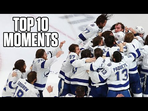 2020 Tampa Bay Lighting - Top 10 Stanley Cup Playoff Moments