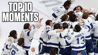 2020 Tampa Bay Lightning - Top 10 Stanley Cup Playoffs Moments