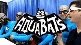 Mike on the Mic at Collective Con 2015: The Aquabats