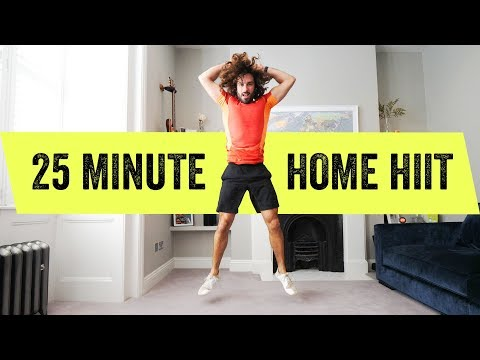 25 Minute FULL BODY Home HIIT Workout | The Body Coach TV