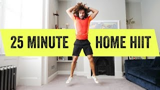25 Minute Full Body Home Hiit Workout | The Body
