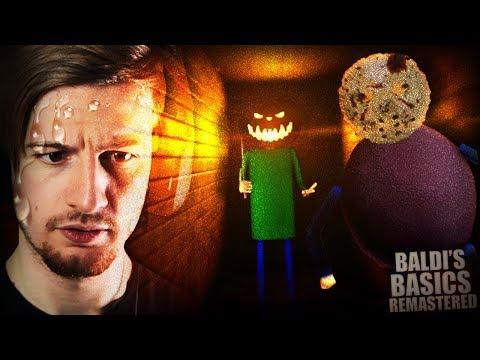 BALDI'S AT HALLOWEEN? NAH I'M OUT. || Baldi's Unreal Basics (Halloween Update + Chapter 3)