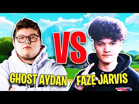 FaZe Jarvis Challenged by Ghost Aydan to 1v1 on Fortnite