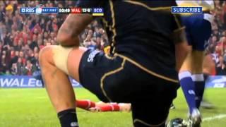 Classic Games: Wales v Scotland Millennium Stadium 12th February 2012