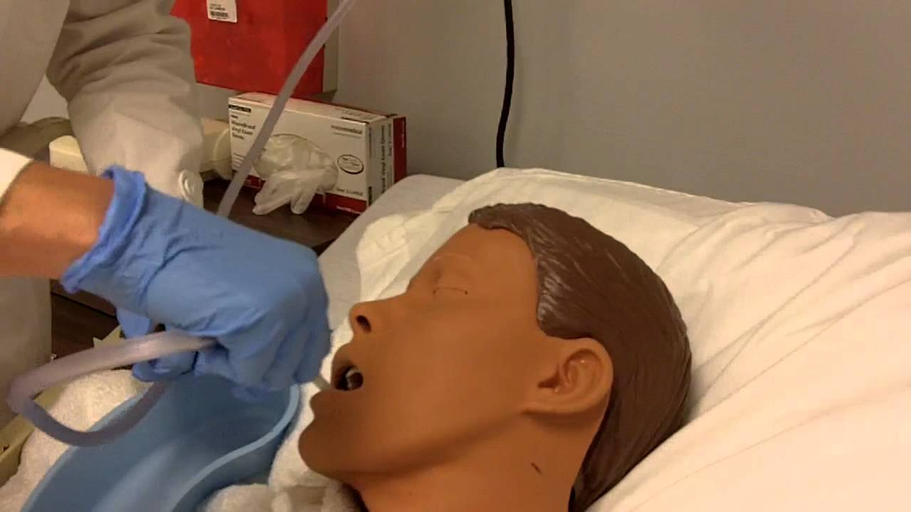 N110 : Oral Care for the Unconscious Patient