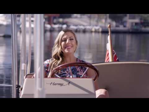 Harvey A - Luxury self-drive hire boat Melbourne