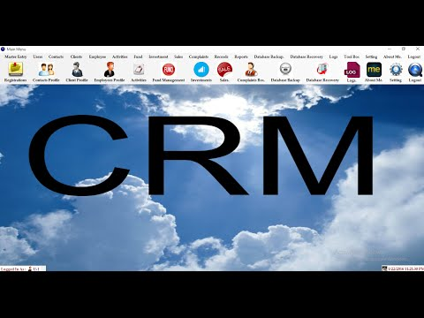 Customer Relationship Management System Project
