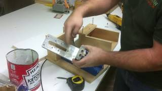 """Simple """"kreg Jig"""" Foot Clamping System.  New And Improved!!!"""