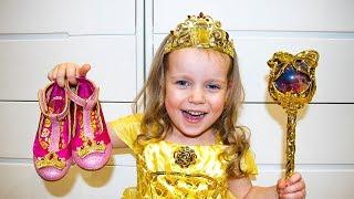 Gaby realmente quiere ser una Princesa de Disney