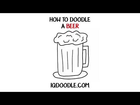 How to Draw a Mug of Beer (drawing tips)
