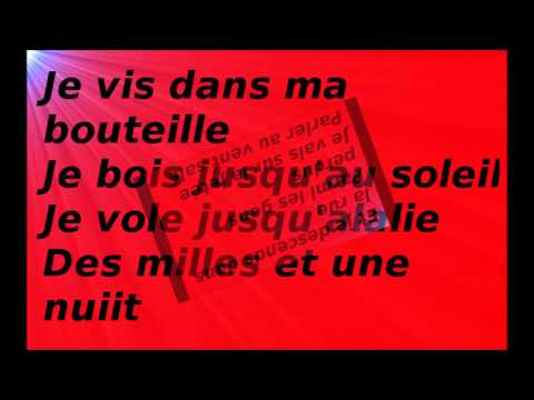 Marc Lavoine - Je descends du singe (Lyrics)