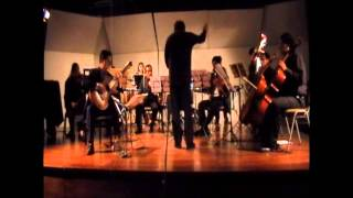 Manuel Espinás plays Concerto for Guitar and Small Orchestra (3/3)