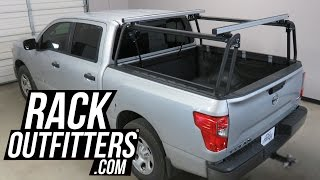 2017 Nissan Titan with Leitner ACTIVE CARGO SYSTEM - Full Size - 5-1/2 Foot