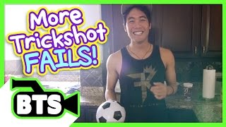 Soccer Trickshot Fails! (BTS)