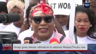 Group gives Senate 2 week ultimatum to address Melaye Tinubu row