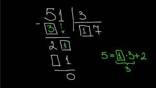 Деление в столбик на числа первого десятка B1 1