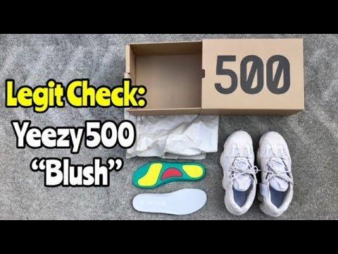"9db26c84e adidas Yeezy Desert Rat 500 ""Blush"" legit check - YouTube"