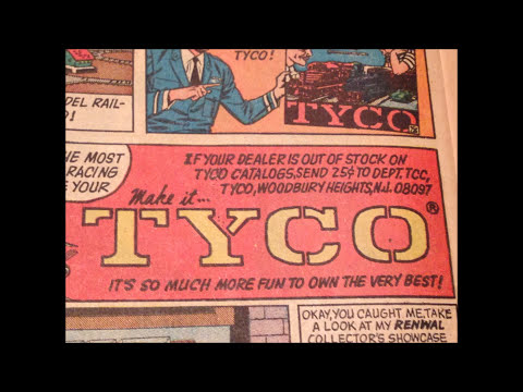 COMIC MAN PRODUCTIONS: TYCO BOBBY'S SECRET COLLECTION DETECTIVE BATMAN COMIC BOOK AD 1966