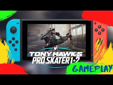 🎮 GAMEPLAY: Primera Hora Tony Hawk's Pro Skater 1+2 de Nintendo Switch | Gamesandmore.cl