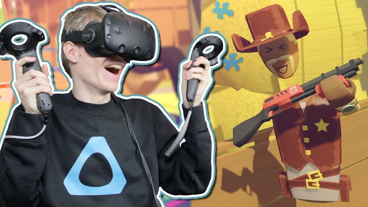 VIRTUAL REALITY LIVESTREAM RECAP! | Rec Room: VR Paintball (HTC Vive Gameplay)