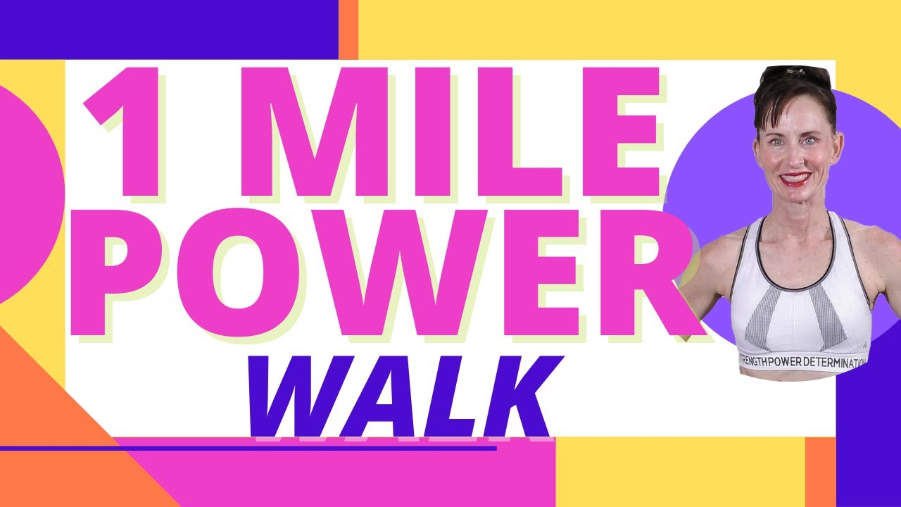 GET UP AND WALK 1 MILE  INDOOR WALKING PROGRAM WITH CALENDAR