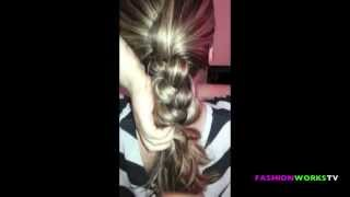 HOW TO BRAID HAIR PLOT HAIRSTYLE TUTORIAL .m4v Thumbnail