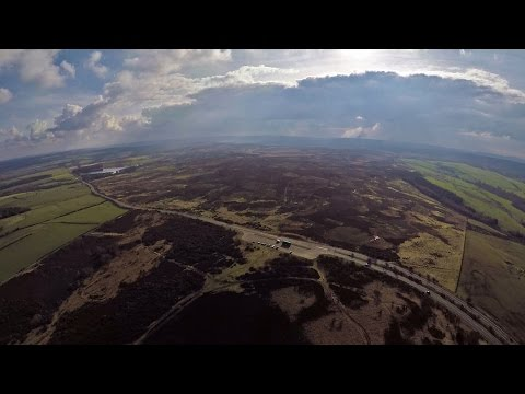 North York Moors from the air