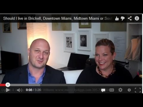 Should I Live In Brickell, Downtown Miami, Midtown Miami Or South Beach?