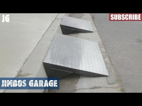 Steel Ramp Build - Jimbos Garage