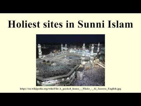 Holiest sites in Sunni Islam