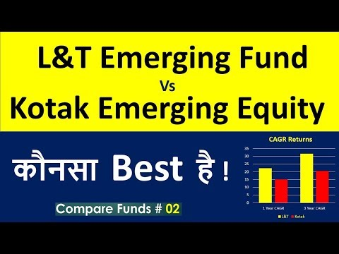 Mutual funds Comparisons : L&T Emerging Business Fund vs Kotak Emerging Fund | Best SIP Plans