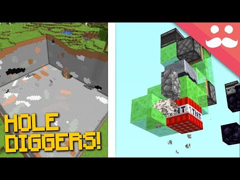 Experimenting With AUTO DIGGERS For Hermitcraft!