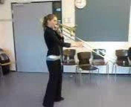Rotterdam Bass Trombone Style...Girl Power!!!