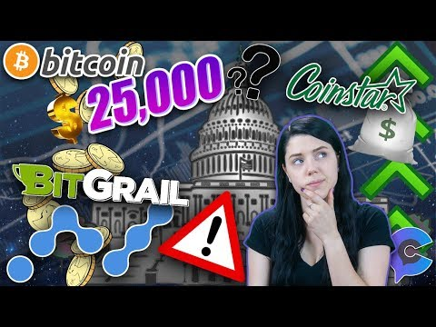 BTC Price Predictions, Is Crypto Dying, Bitgrail Hack, Coinstar & Crypto Legislation!