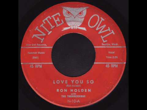 Ron Holden * Love You So (Nite Owl N-10)