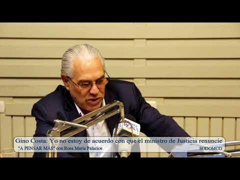 Gino Costa: Yo no estoy de acuerdo con que el ministro de Justicia renuncie