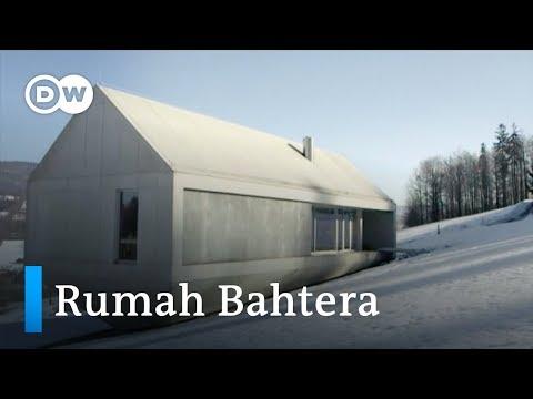 Rumah Kapal Ala Nabi Nuh di Lereng Gunung Polandia