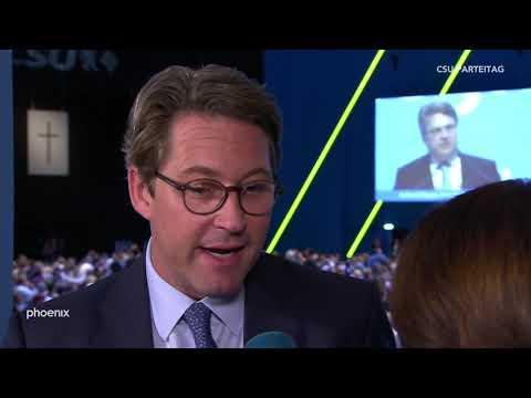 CSU-Parteitag: Andreas Scheuer