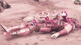 Mortal Kombat X Alien All SECRET Brutality Brutalities Chestburster Easter Egg