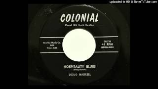 Doug Harrell - Hospitality Blues (Colonial 723) [1957 country bopper]