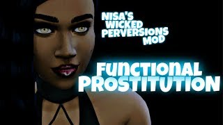 PROSTITUTION MOD SHOWCASE - WICKED PERVERSIONS | THE SIMS 4 WICKED WHIMS