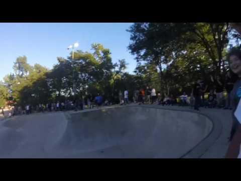 Santa Cruz skateboards demo 2016 Lawton skatepark Fort Wayne Indiana
