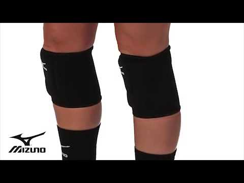mizuno volleyball knee pads lr6 black