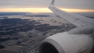 4K Ryanair Boeing 737-800 | London Stansted to Oslo Rygge | Takeoff and Landing - FR1392