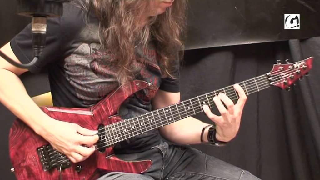 kiko loureiro guitar lesson youtube. Black Bedroom Furniture Sets. Home Design Ideas