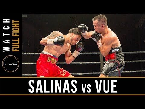 Salinas vs Vue FULL FIGHT: September 26, 2017 - PBC on FS1