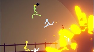 SURVIVING THE BIGGEST EXPLOSION! (Stick Fight)
